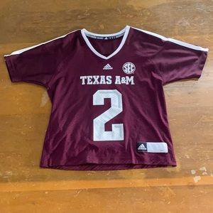 Texas A&M Youth Football Jersey Aggies Adidas 2 M